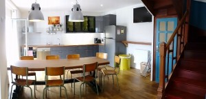 charcuterie surf house bretagne france - surf accommodation france